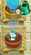 Electric Peashooter Watered