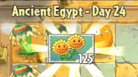 Ancient Egypt Day 24 - Plants vs Zombies 2 Its About Time