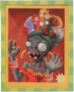 Fruit Headress Zombie Movie Poster