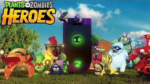 Plants vs. Zombies Heroes Announce Trailer
