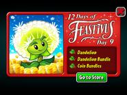 12 Days of Feastivus 2019 Day 9 Dandelion & Coin Bundles