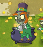 Leprechaun Imp out of the Pot of Gold