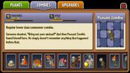 Peasant Zombie Almanac Entry