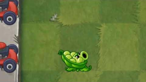 Plants vs. Zombies 2 Sling Pea Animation - Beta 7.0.1