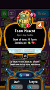 Team Mascot statistics
