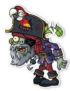 PVZ2 MP Zombie Capitan Pirata