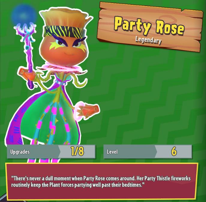 Party Rose Plants Vs Zombies Wiki Fandom Ed By Wikia