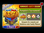 Pumpkin's Safety Season - Pumpkin's Tournament