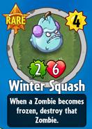Receiving Winter Squash
