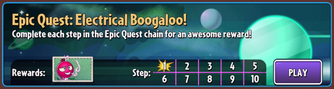 Electrical boogaloo quest tab