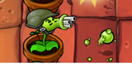 Gatling Pea in High Gravity