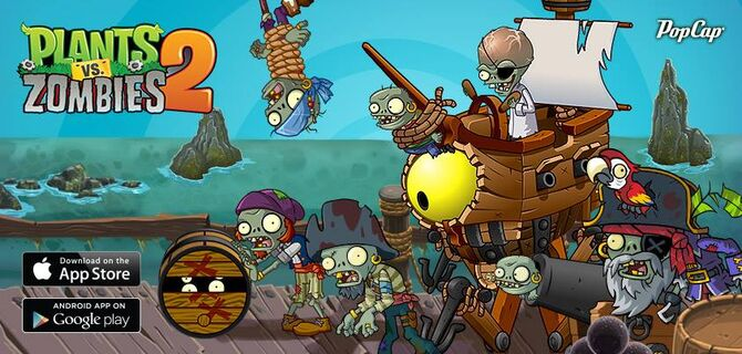Pirate seas plants vs zombies wiki fandom powered by wikia pirate seas the second world in plants vs zombies 2 voltagebd Gallery