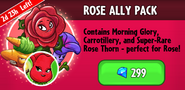 Rose Ally Pack Promotion