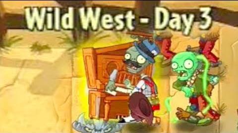 Wild West Day 3 - Plants vs Zombies 2