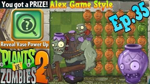 Plants vs. Zombies 2 Vasebreaker Intro To the Left Boss Vase (Ep