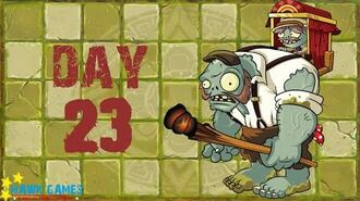 Pre-1.8 Plants vs. Zombies 2 China - Lost City - Day 23