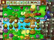 Gargantuar vs all plants