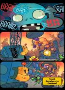 Junkyard Ambush! ending comic strip