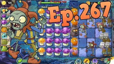 Plants vs. Zombies 2 New Jester Zombie - Dark Ages Night 5 (Ep
