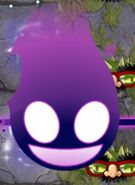Powered Shadow Peashooter Plant Food Projectile