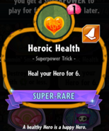 Heroic Health statistics
