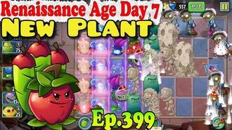 Plants vs. Zombies 2 (China) - New Apple Mortar - Renaissance Age Day 7 (Ep.399)