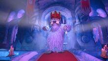 Yeti King dancing