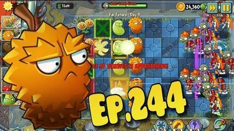 Plants vs. Zombies 2 Got a new Plant E.M.Peach - Far Future Day 9 (Ep