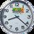 PvZ2 wall clock - simple