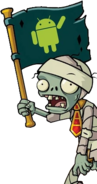 Android Flag Zombie