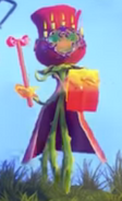 Rosa con Velas