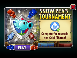 Snow Pea's Tournament (Updated)