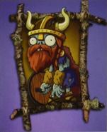 Viking warrior zombie