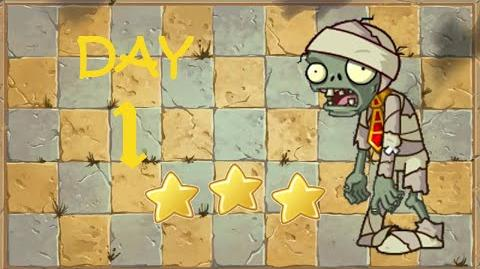 -Android- Plants vs. Zombies 2 Chinese - Ancient Egypt Day 1