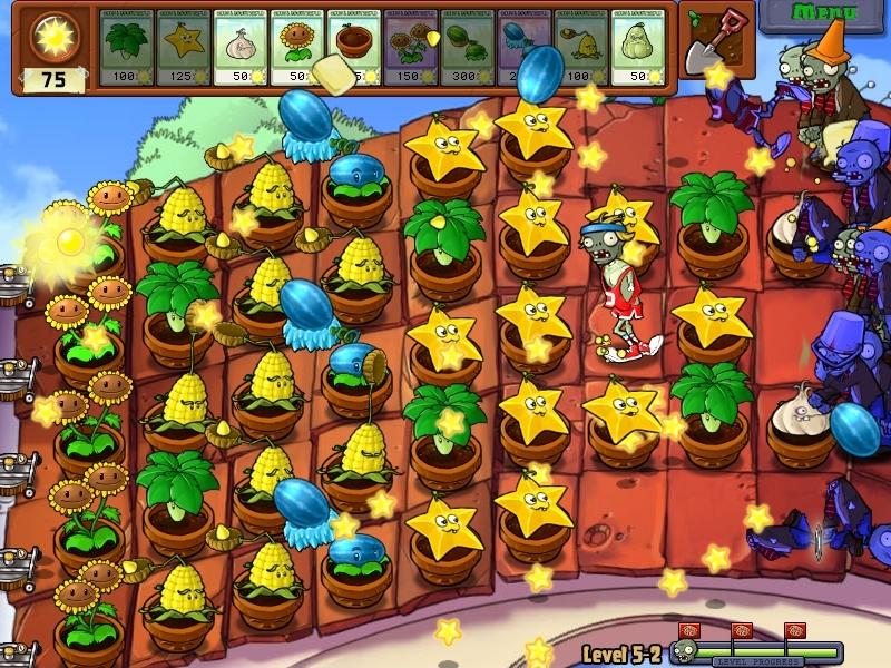 Hasil gambar untuk Plants vs Zombies level