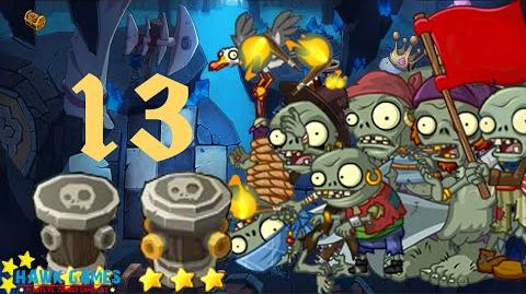 PvZ Online - Adventure Mode - Treasure Cave 13