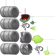 Barrel roller but the textures killed the imp's body