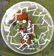 Chicken Wrangler Zombie Hamster Ball