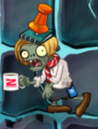 ZCorp Contractor Conehead In-Game