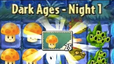 Dark Ages Night 1 - Plants vs Zombies