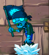 FrozenPirateFlagZombie