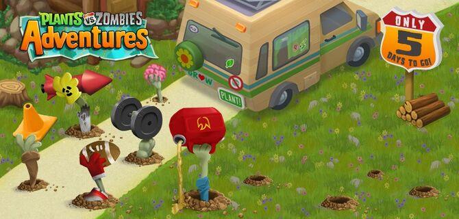 Plants vs. Zombies adventures youtube.