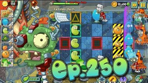 Plants vs. Zombies 2 Survive and protect plants - Far Future Day 15 (Ep