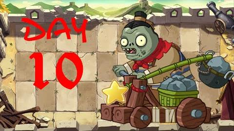PvZ All Stars - Great Wall of China Day 10 BOSS