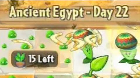 Ancient Egypt Day 22 - Plants vs Zombies 2 Its About Time