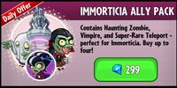 Immorticia Ally Pack