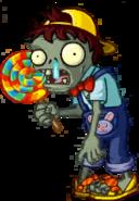 Lollipop Zombie Child Almanac Icon Texture