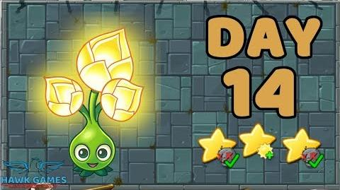 Plants vs Zombies 2 China - Steam Ages Day 14