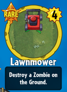 Receiving Lawnmower