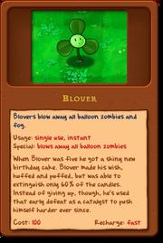 Blover's alamanac